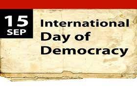 15.09.2020.godine -Međunarodni dan demokratije
